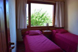 Dormitorio 2 con vista al lago