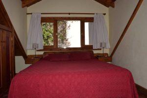 Dormitorio 3 con vista al lago